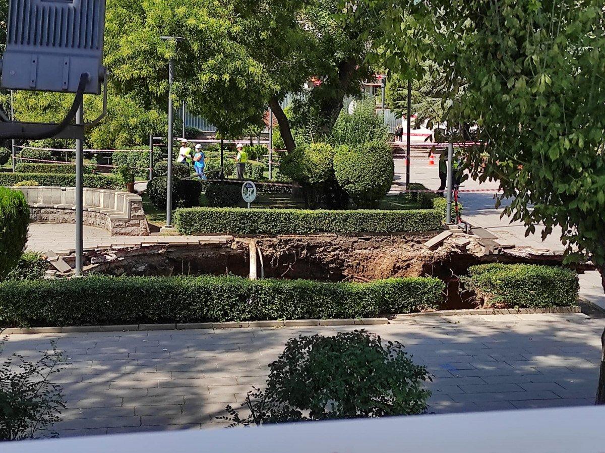 Ankara da metro inşaatında göçük #4