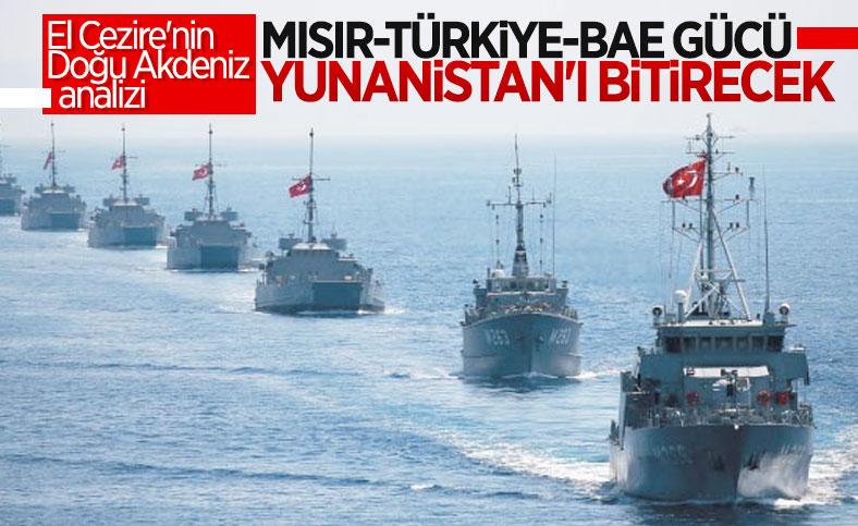 El Cezire: Türkiye'nin Mısır ve BAE ile ilişkileri, Yunanistan'ı yalnızlaştıracak