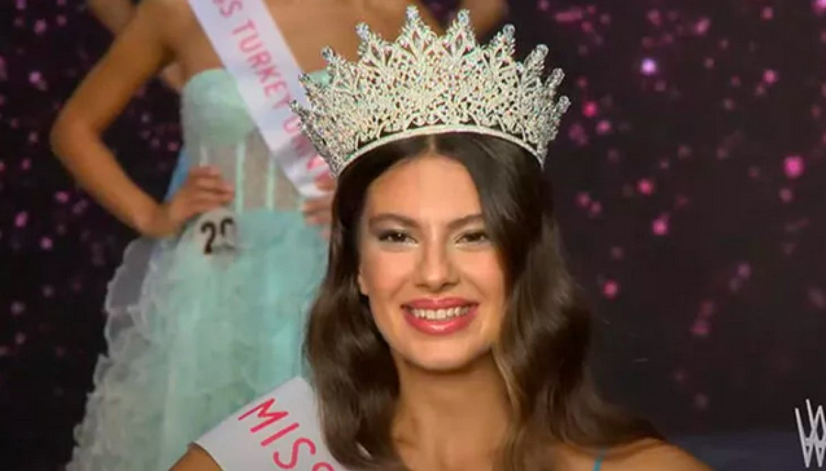 Miss Turkey 2021 birincisi Dilara Korkmaz oldu #1