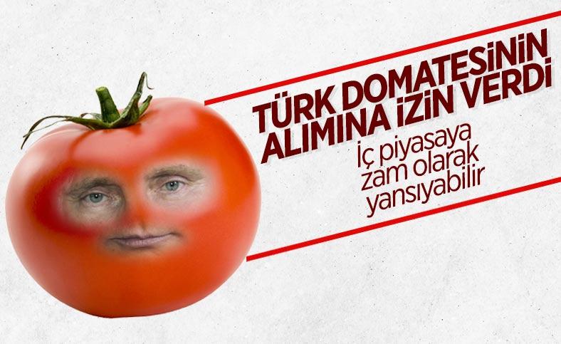 Rusya, Türkiye'den domates ve biber ithal kısıtlamasını kaldırdı