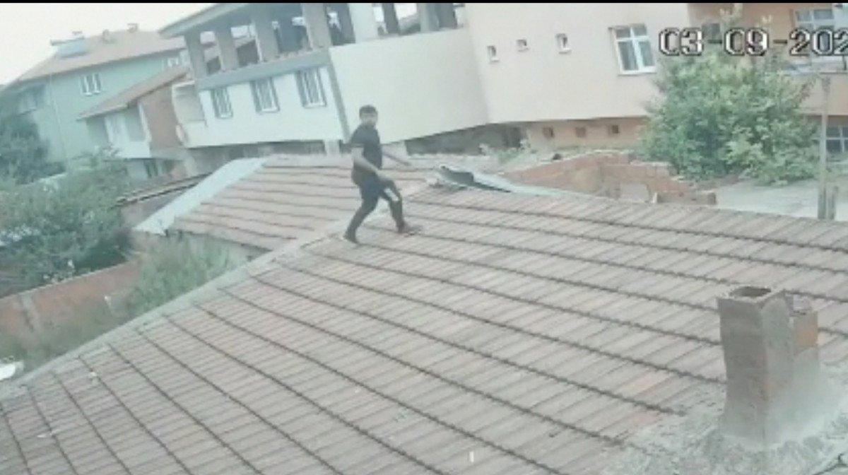 Bursa da akrabasının evine balkondan girip eşini darbetti #4