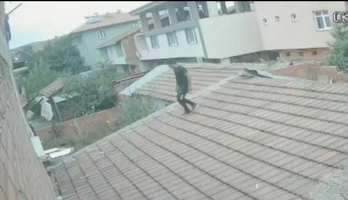 Bursa da akrabasının evine balkondan girip eşini darbetti #3