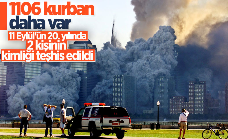11 Eylül saldırısında ölen 2 kişinin kimlikleri daha teşhis edildi