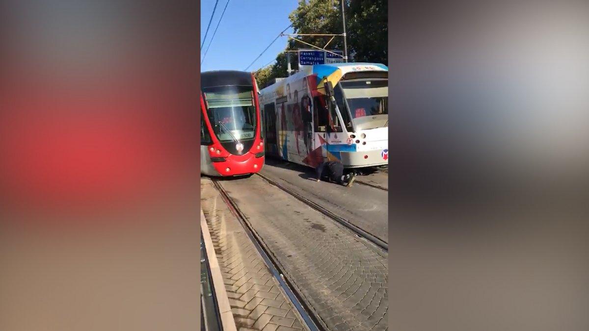 İstanbullu şimdi de tramvay arızasıyla karşılaştı #7