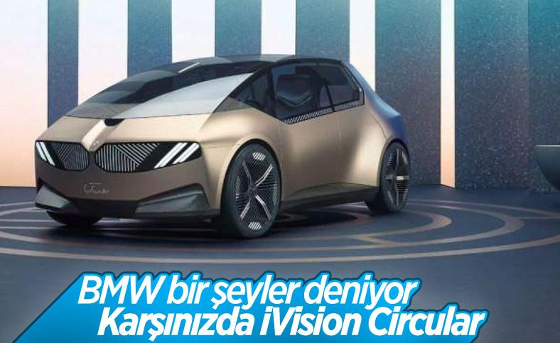 BMW'den yeni elektrikli araç konsepti: iVision Circular