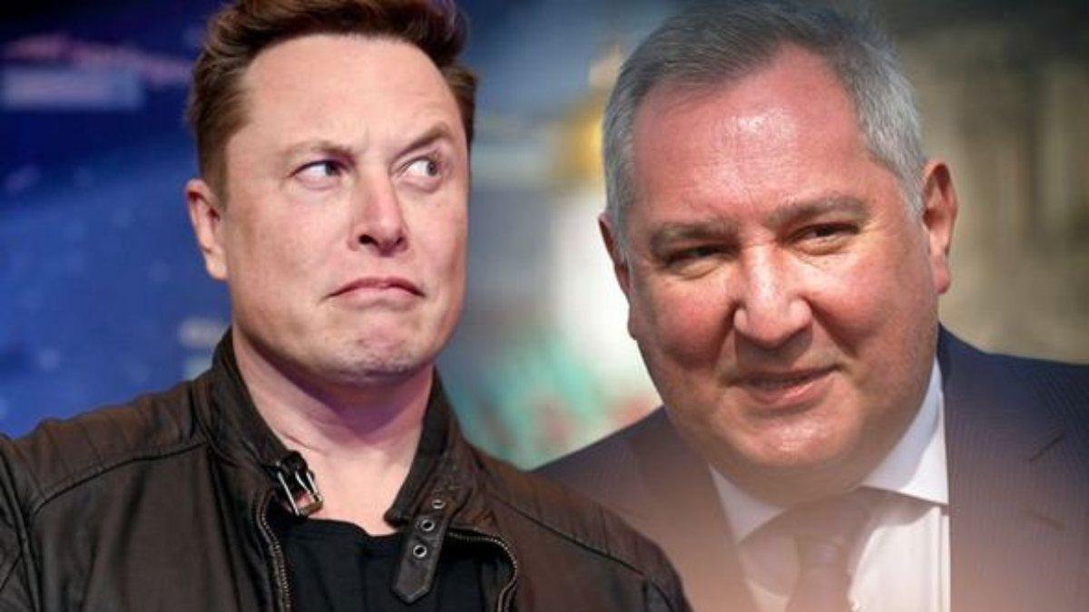 Roscosmos Başkanı Dmitry Rogozinden Elon Muska davet