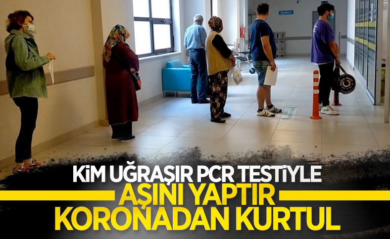 Edirneli vatandaşlar, yeni kararla birlikte aşı yaptırmak için hastaneye akın etti