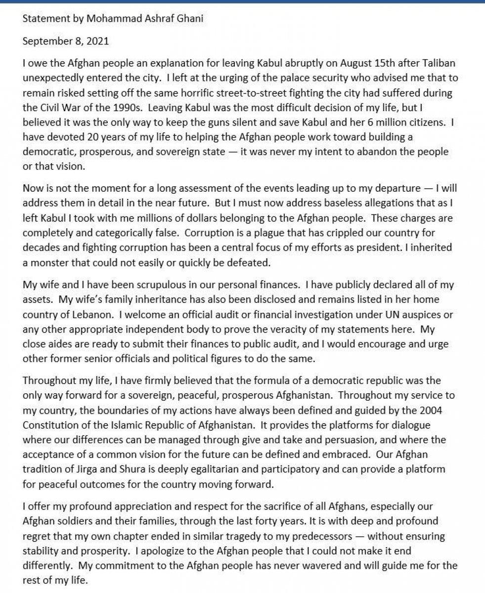 Eşref Gani: Afgan halkından özür diliyorum #4