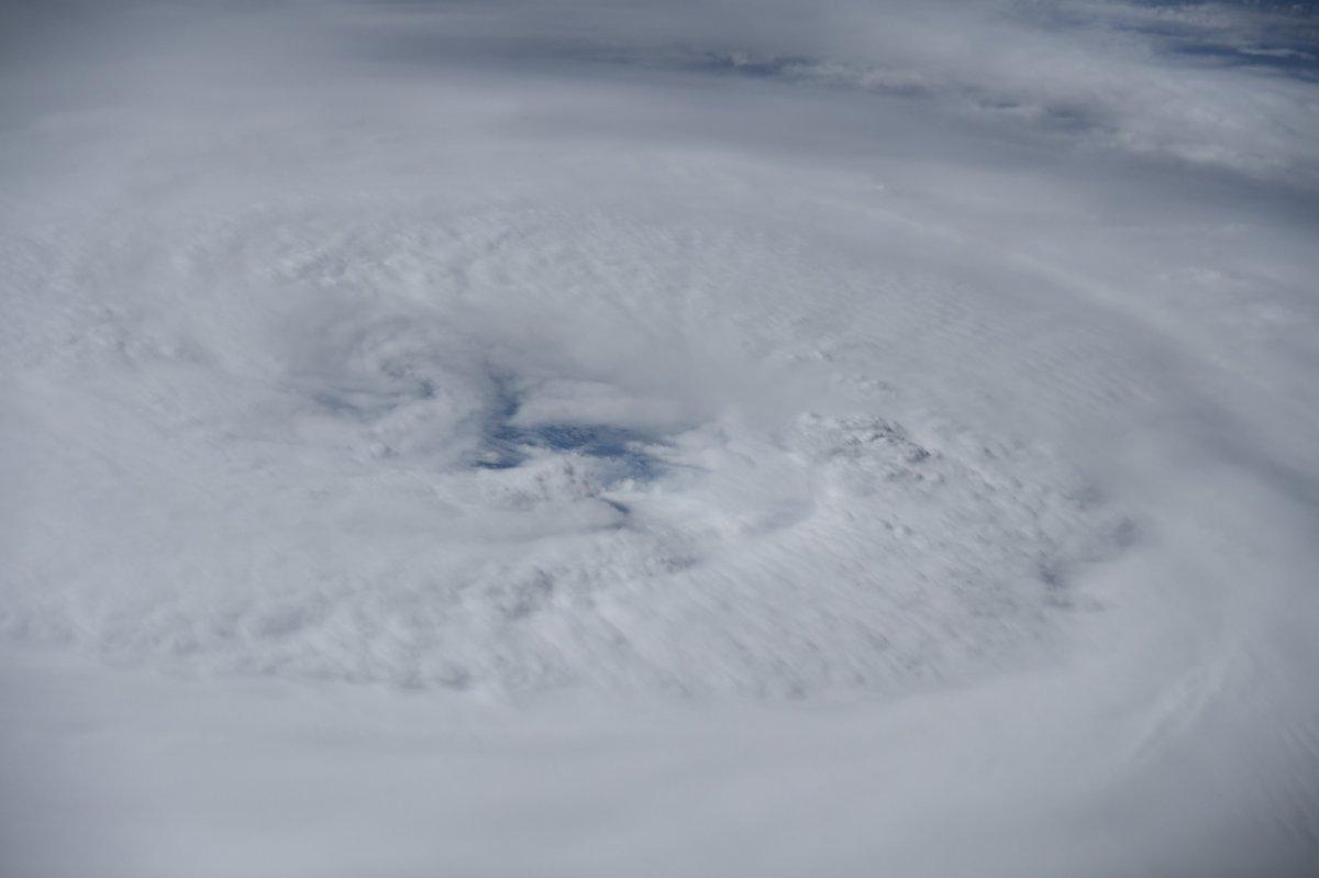 Dev Larry Kasırgası uzaydan görüntülendi #2