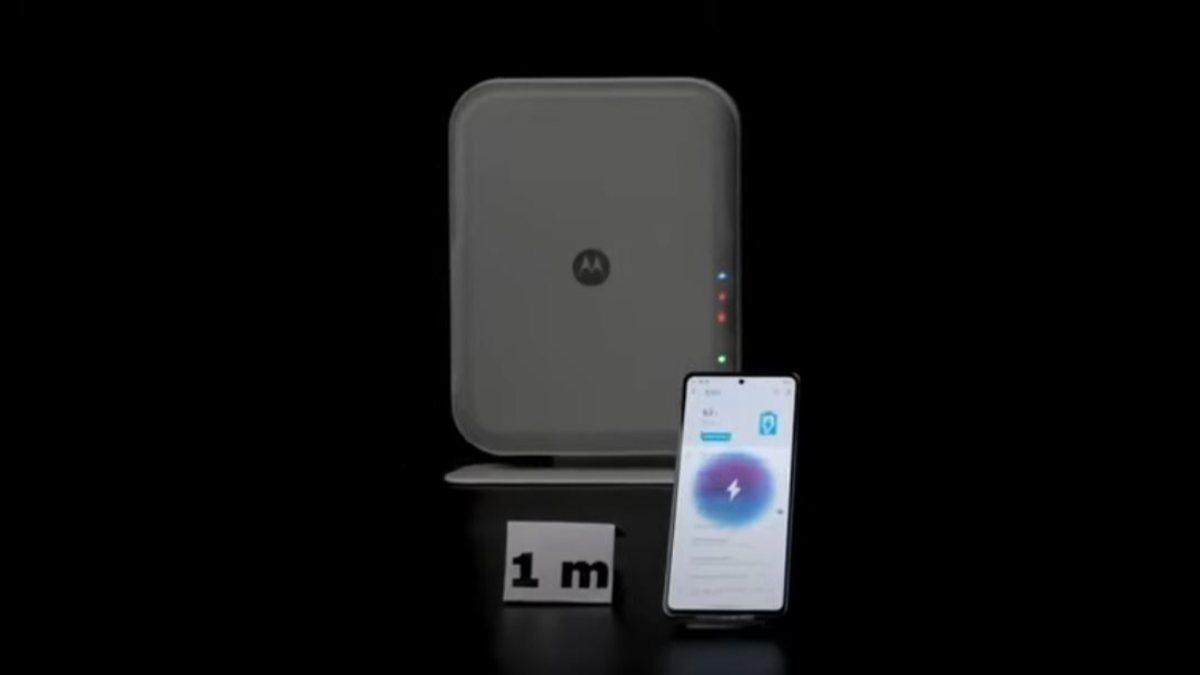 Motoroladan telefonları havadan şarj eden teknoloji