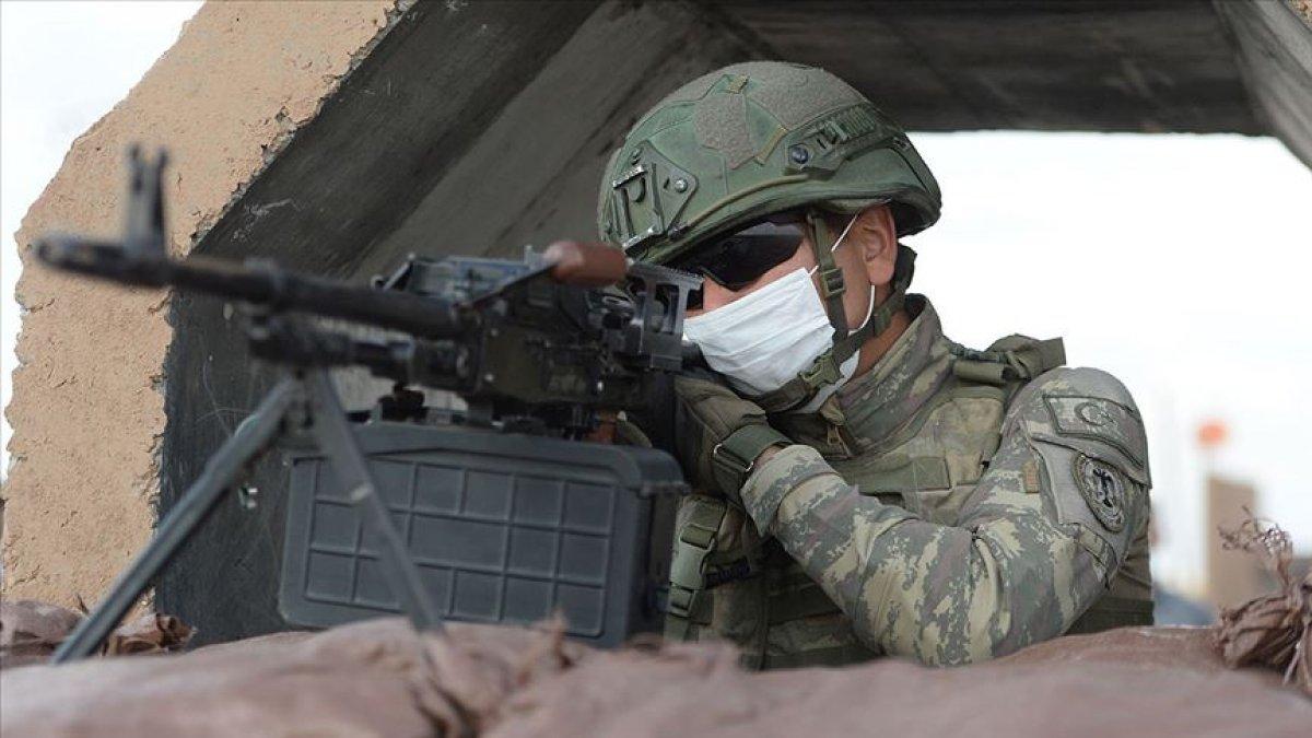 Barış Pınarı bölgesinde 4 PKK/YPG li terörist öldürüldü #1