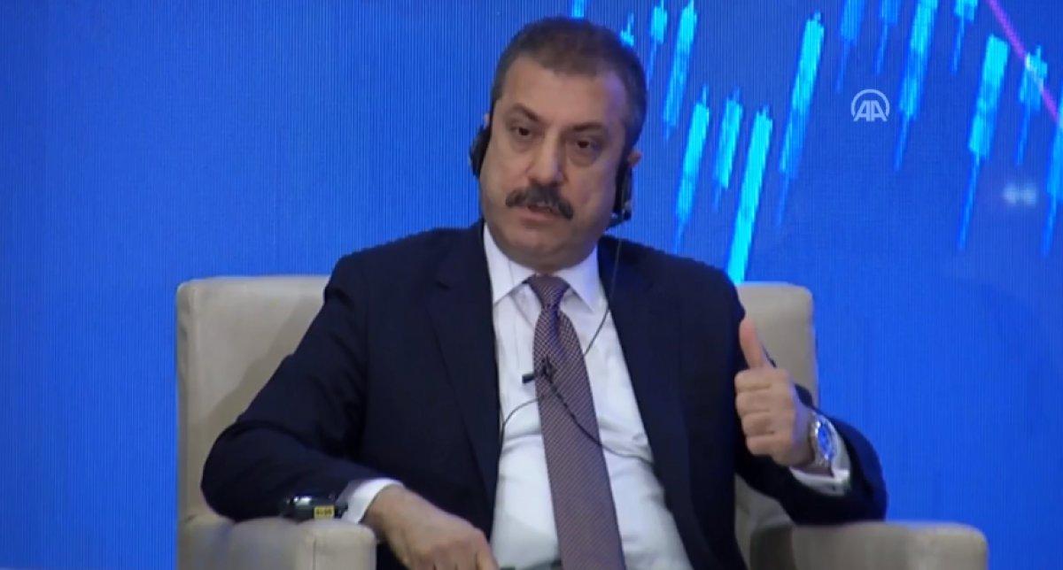 Şahap Kavcıoğlu: Son çeyrekte enflasyon düşüş eğilimine girecek #1