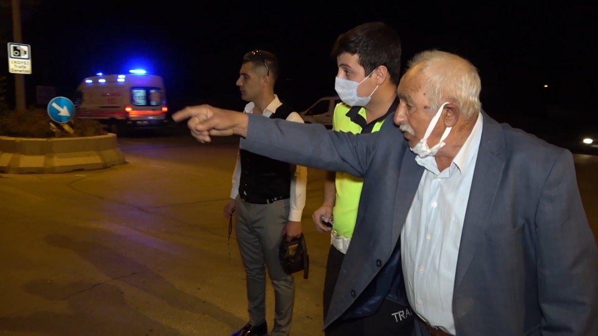Kırıkkale de, bulvarda dönen araca arkadan vurdu #1