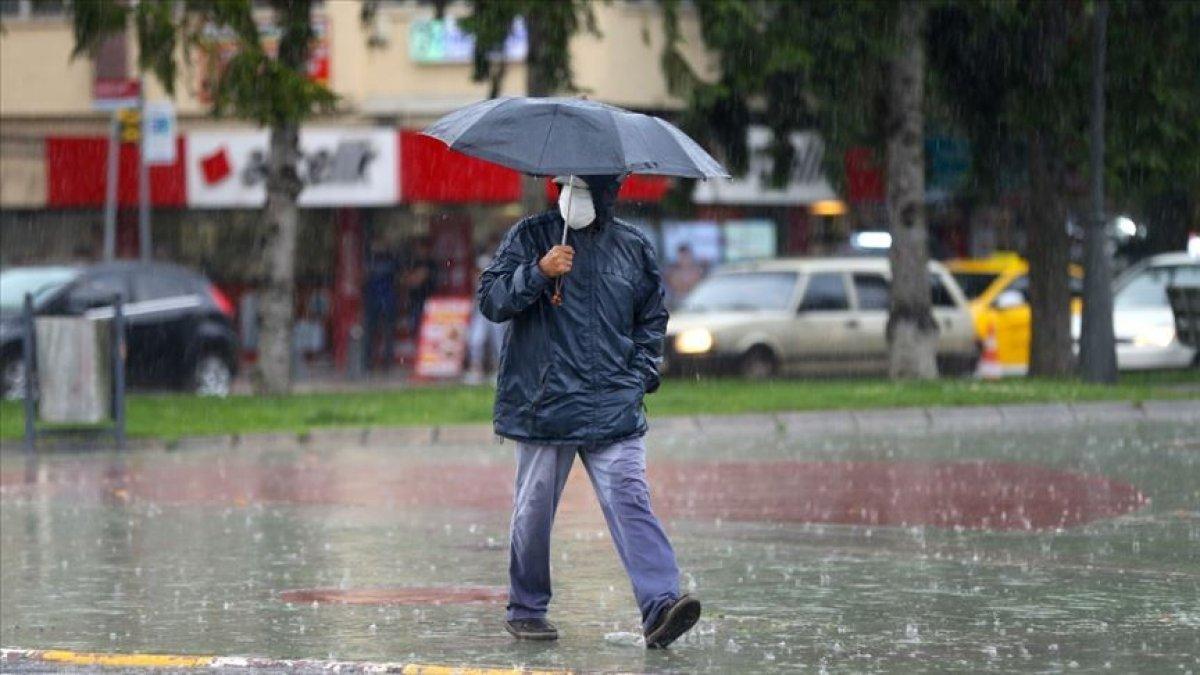 Marmara için sağanak ve kuvvetli rüzgar uyarısı #6