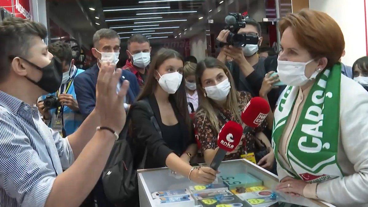 Samsun'da esnaftan Meral Akşener'e Netanyahu tepkisi #2