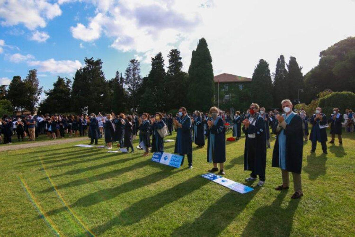 Boğaziçi'nde alternatif mezuniyet töreni #4