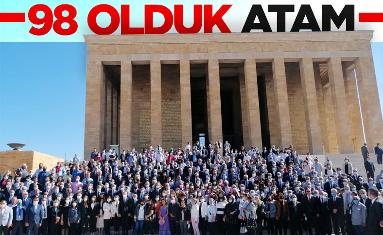 CHP, kuruluşunun 98'inci yıl dönümünde Anıtkabir'de