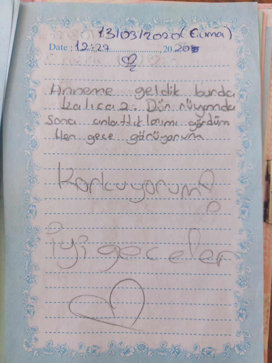 İzmir de üvey babanın günlüğe yazılan cinsel istismarı delil sayılmadı #5