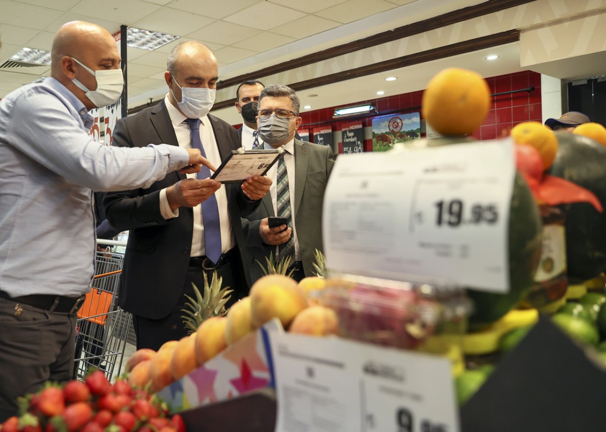 Ticaret Bakanlığı marketlerde fahiş fiyat denetimi yaptı #3