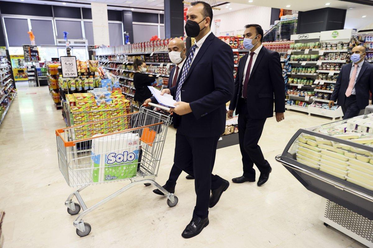 Ticaret Bakanlığı marketlerde fahiş fiyat denetimi yaptı #1