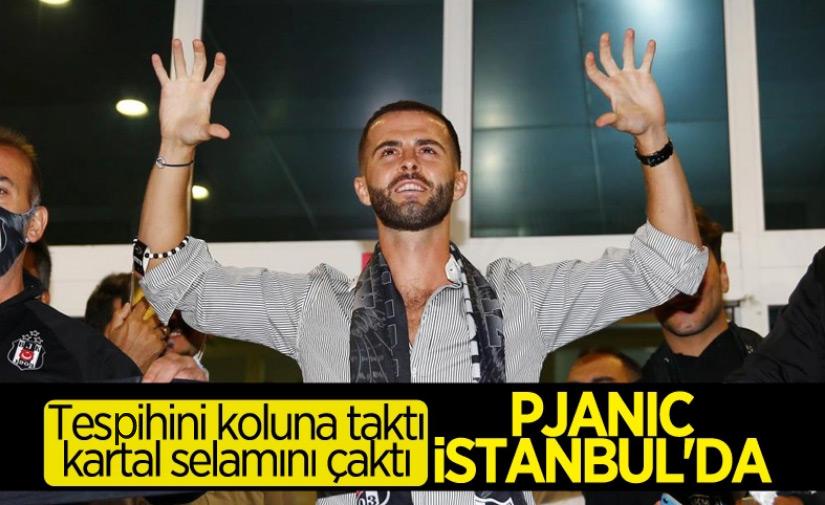 Pjanic İstanbul'da