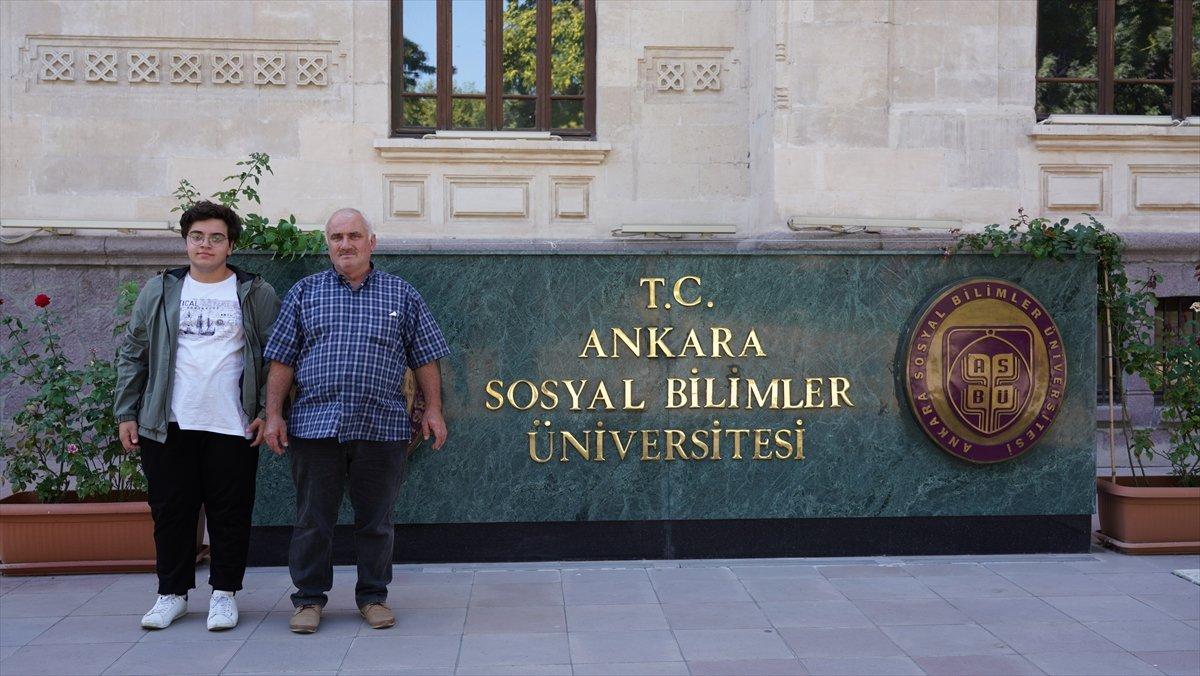 Sakarya da emekli imam, üniversiteli oldu #1
