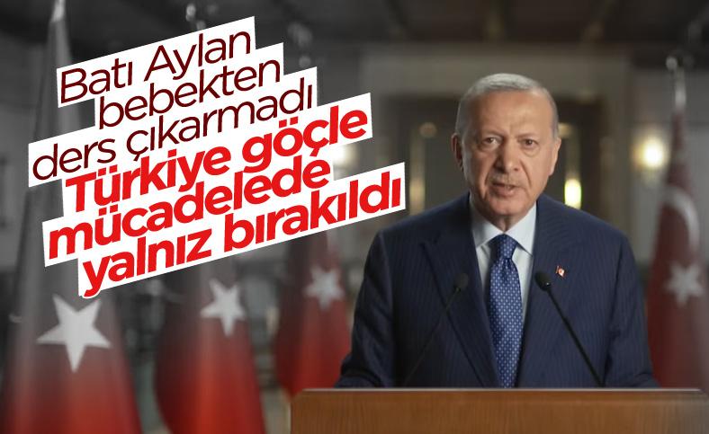 Cumhurbaşkanı Erdoğan'dan 'Yunanistan İle Komşuluk' sempozyumu mesajı