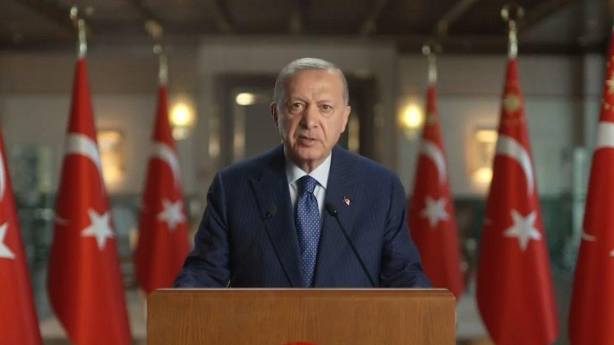 Cumhurbaşkanı Erdoğan dan  Yunanistan İle Komşuluk  sempozyumu mesajı  #1