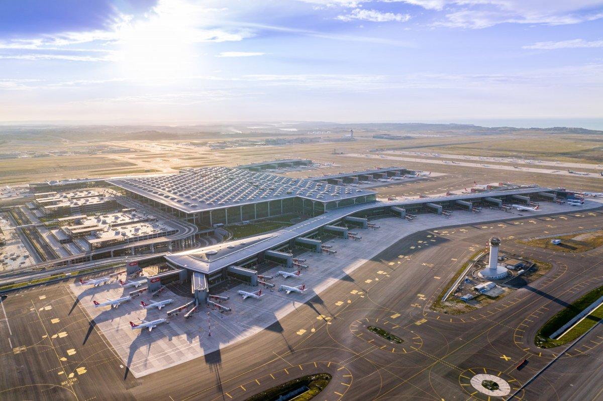 İstanbul Havalimanı, dünyanın en iyi ikinci havalimanı oldu #1