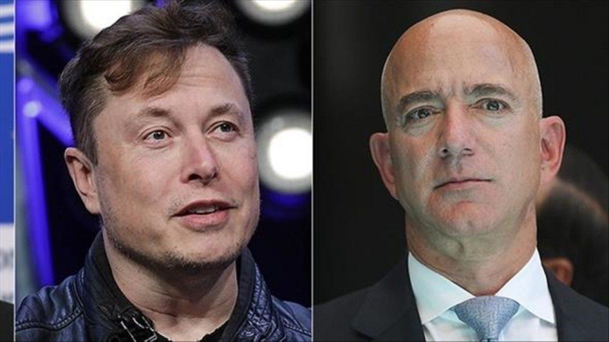 Yaşlanmayı önlemeye çalışan Jeff Bezosa Elon Musktan yanıt