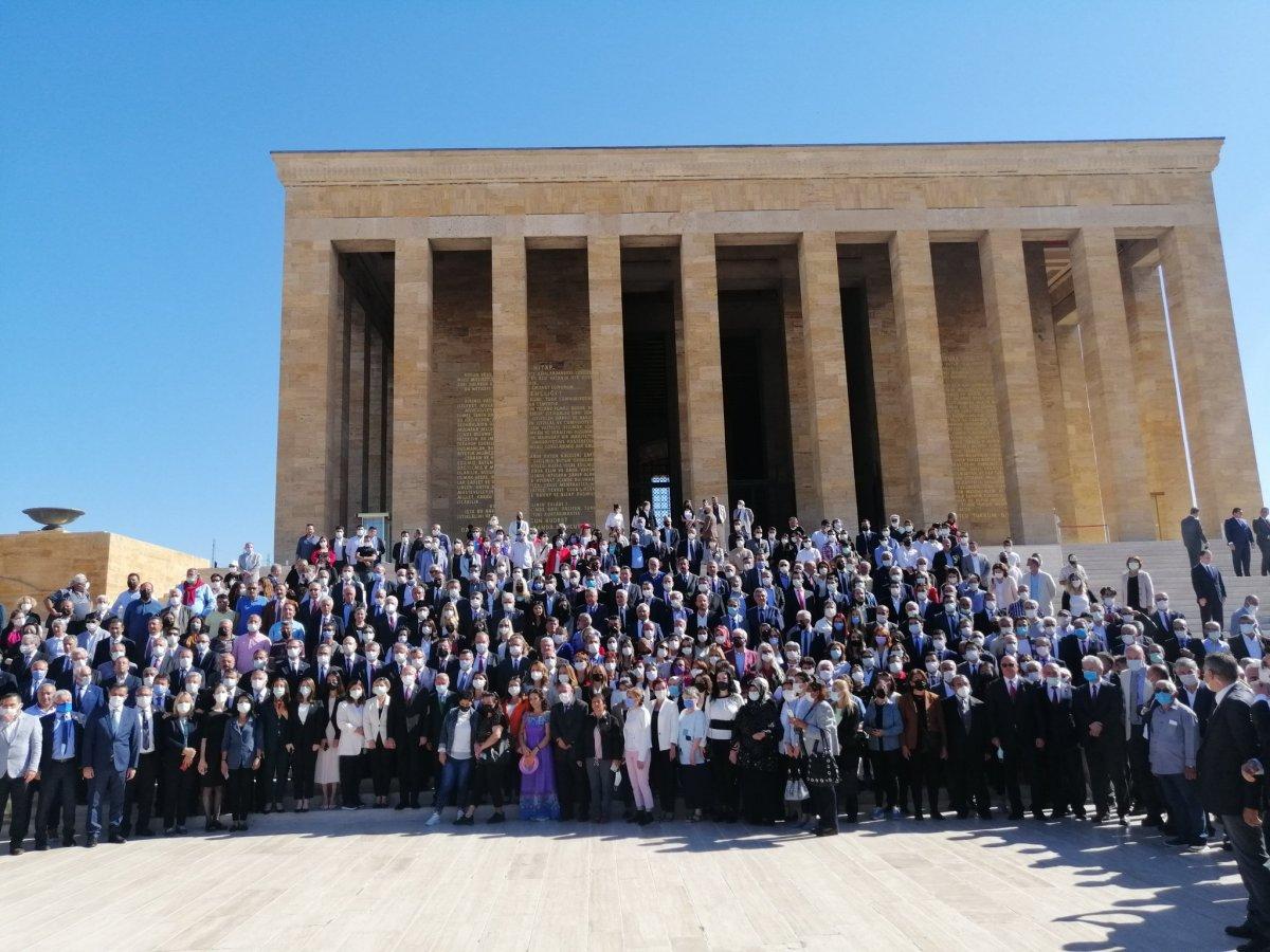 CHP, kuruluşunun 98 inci yıl dönümünde Anıtkabir de #2