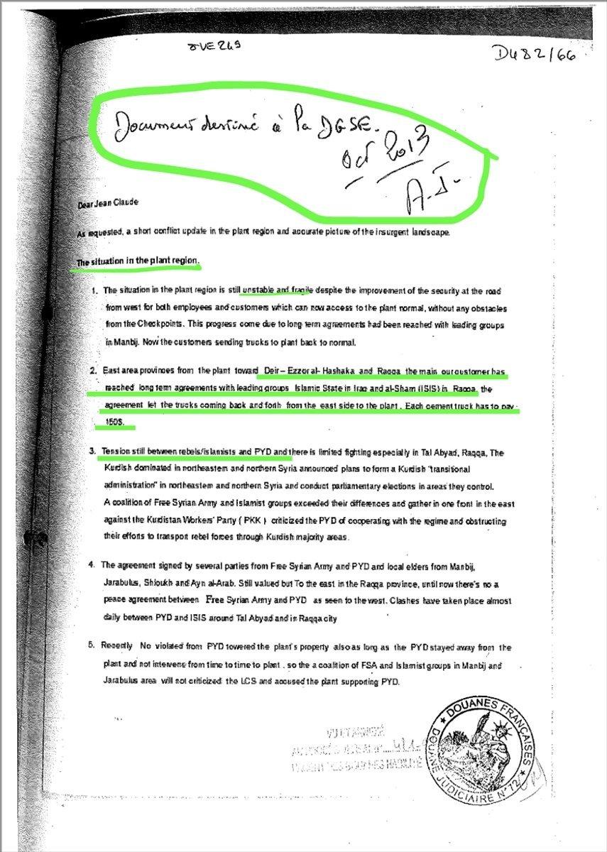 Terörü finanse ettiği suçlaması teyit edilen Lafarge, isim değişikliğine gitti #7