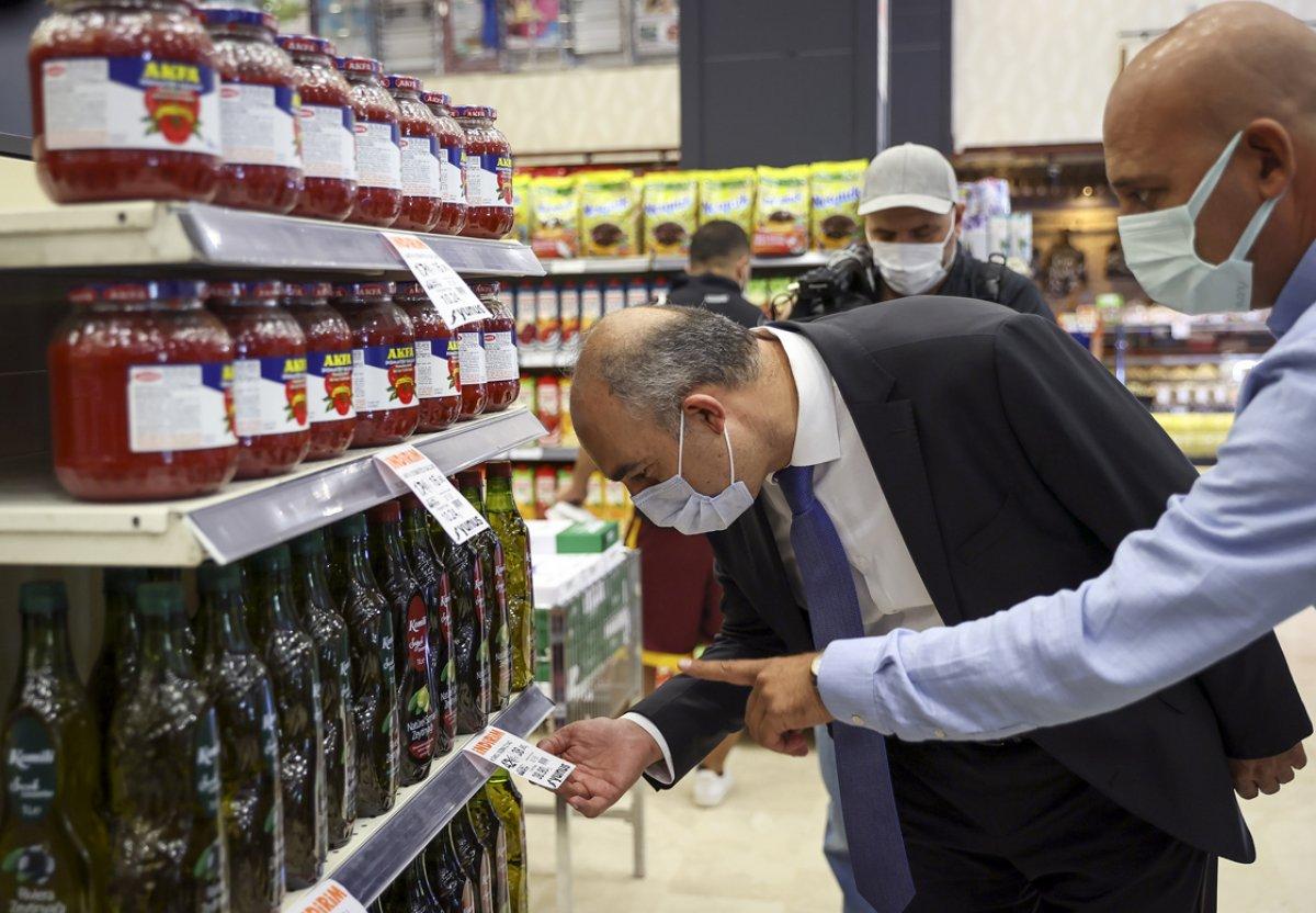 Ticaret Bakanlığı marketlerde fahiş fiyat denetimi yaptı #4