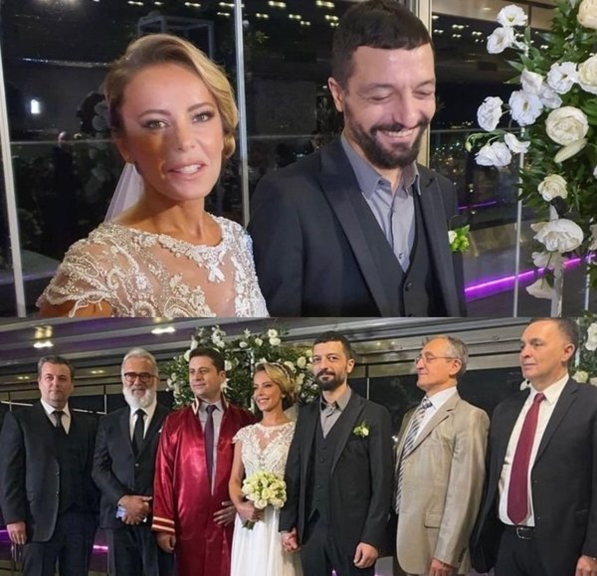 Vildan Atasever ile Mehmet Erdem dünyaevine girdi! İşte düğünden ilk kareler... #2