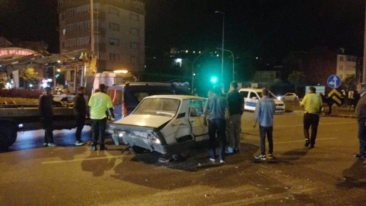 Zonguldak ta zincirleme kaza meydana geldi #3