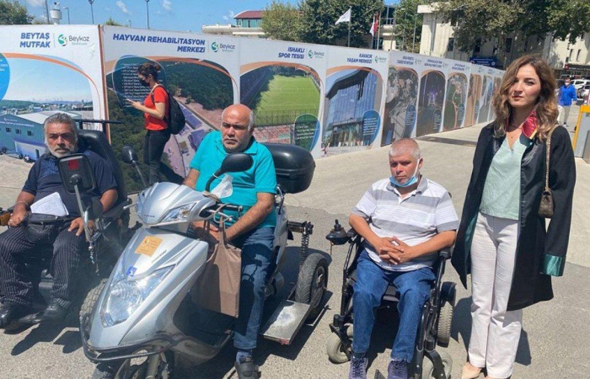 Beykoz da engellileri darbeden sanık: Büyük terbiyesizlik yapmışım #1