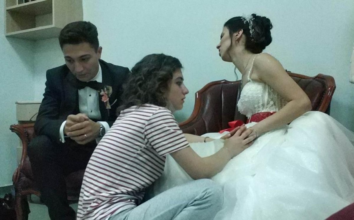 Samsun da evlenen genç kadın, düğün günü annesini kaybetti  #5