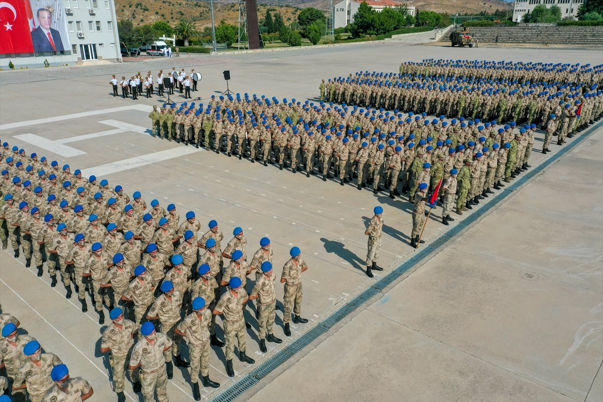 Foça da jandarmalar, terörle mücadele eğitimini tamamladı #29