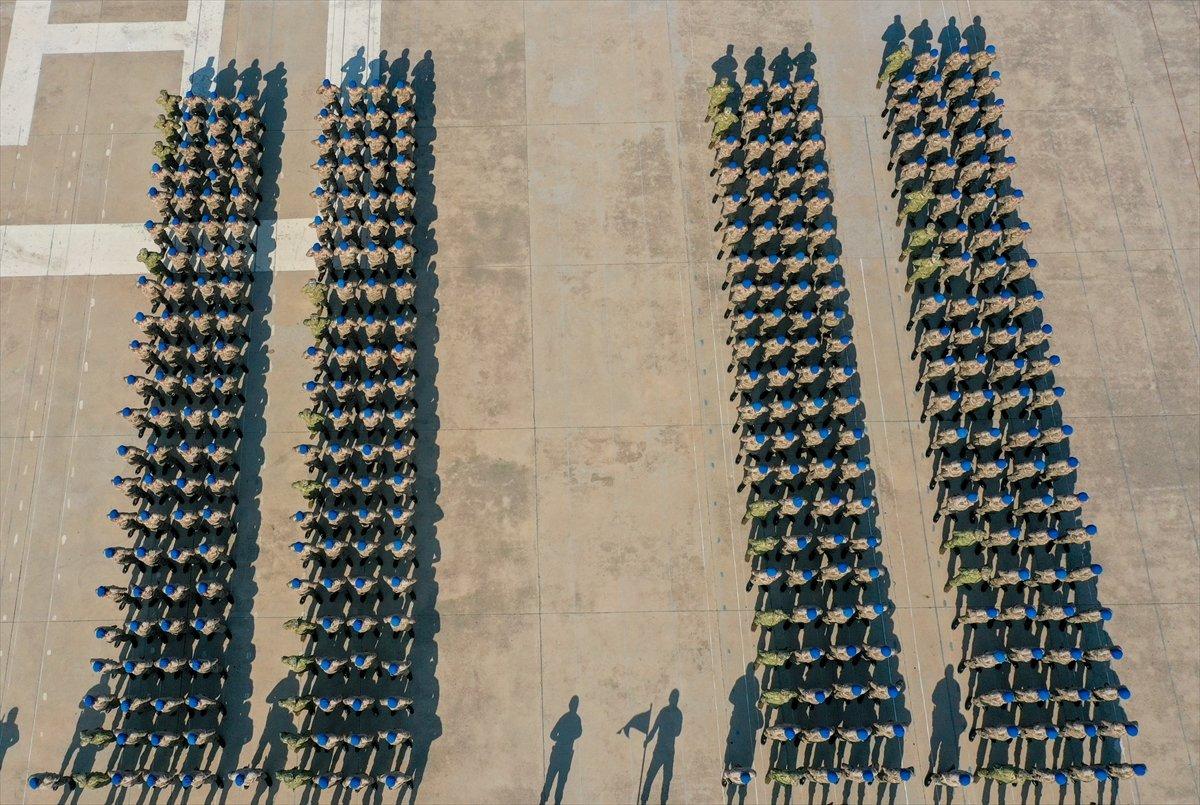 Foça da jandarmalar, terörle mücadele eğitimini tamamladı #3