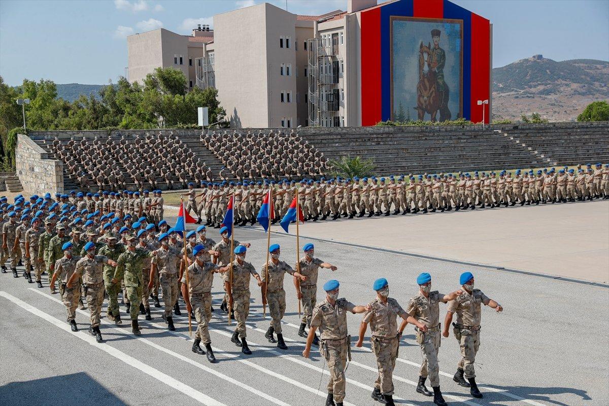 Foça da jandarmalar, terörle mücadele eğitimini tamamladı #12