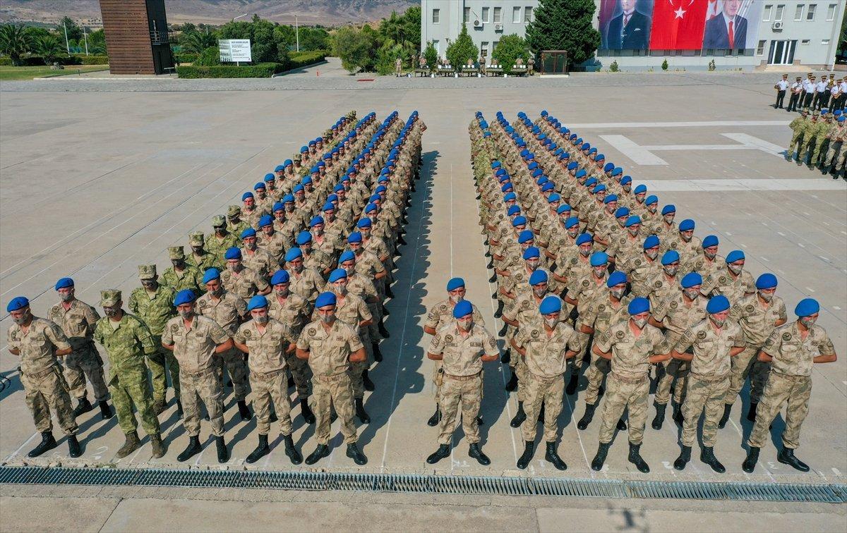 Foça da jandarmalar, terörle mücadele eğitimini tamamladı #30