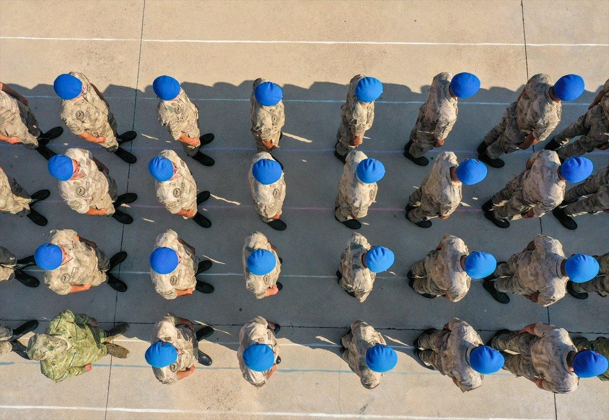 Foça da jandarmalar, terörle mücadele eğitimini tamamladı #31