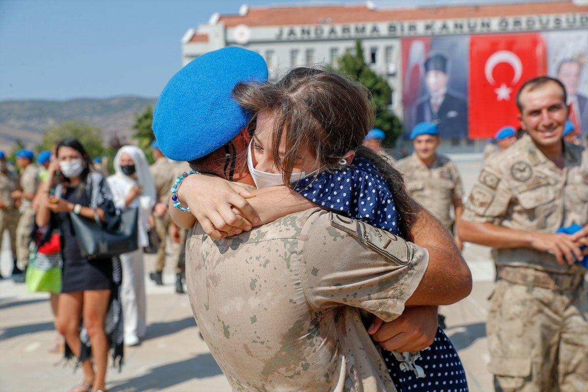 Foça da jandarmalar, terörle mücadele eğitimini tamamladı #16
