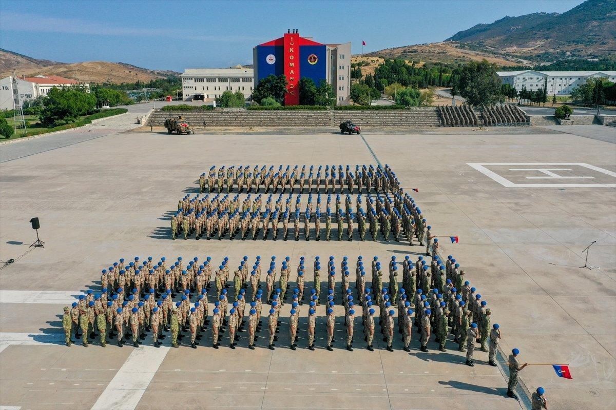 Foça da jandarmalar, terörle mücadele eğitimini tamamladı #32