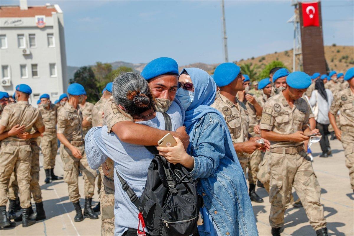 Foça da jandarmalar, terörle mücadele eğitimini tamamladı #15