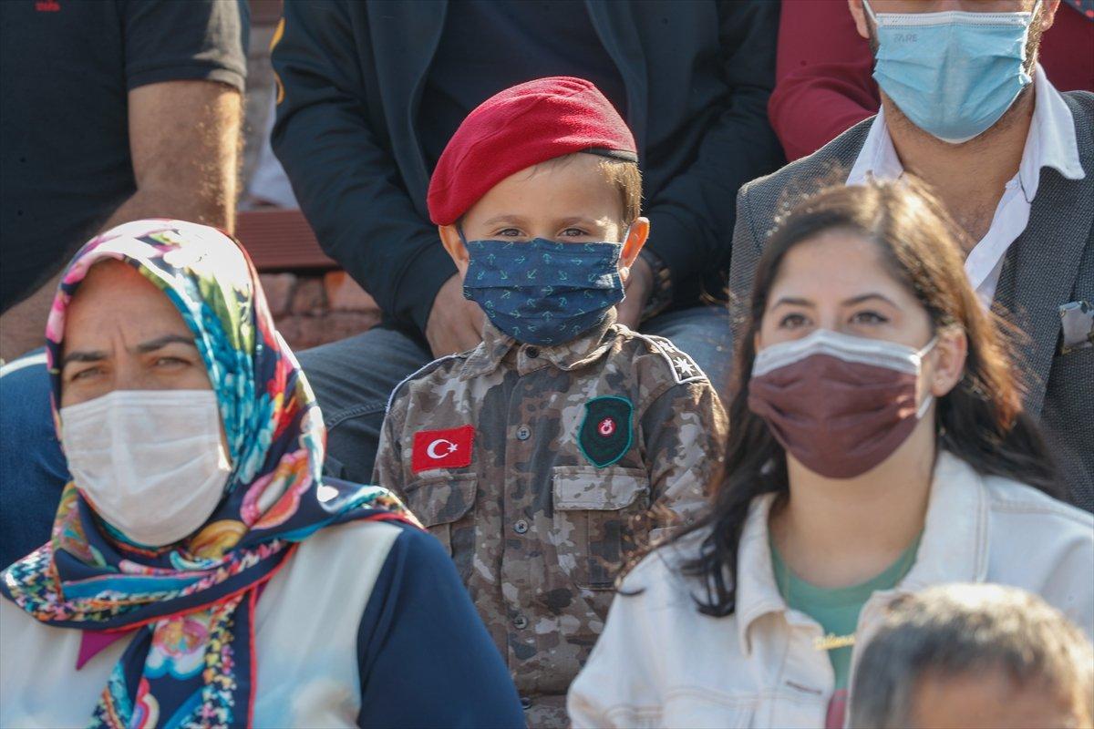Foça da jandarmalar, terörle mücadele eğitimini tamamladı #6
