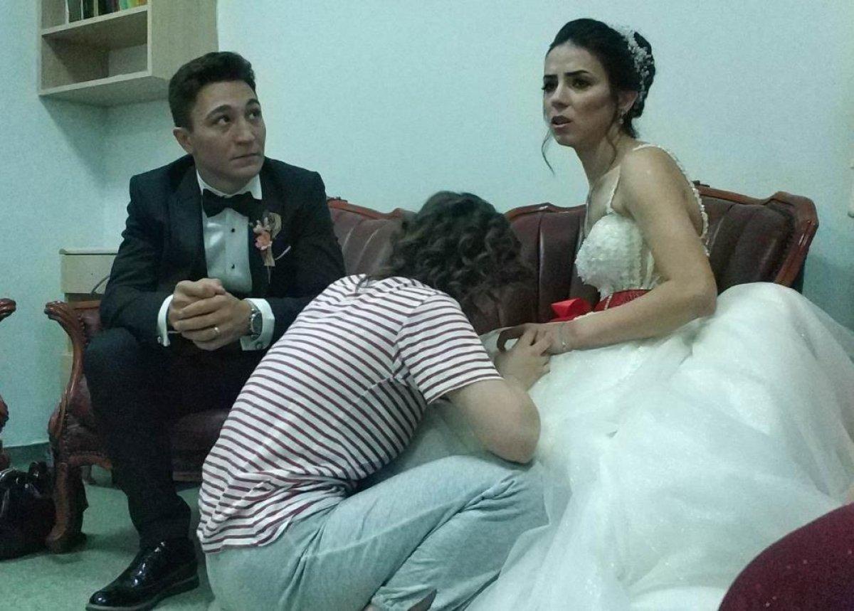 Samsun da evlenen genç kadın, düğün günü annesini kaybetti  #2