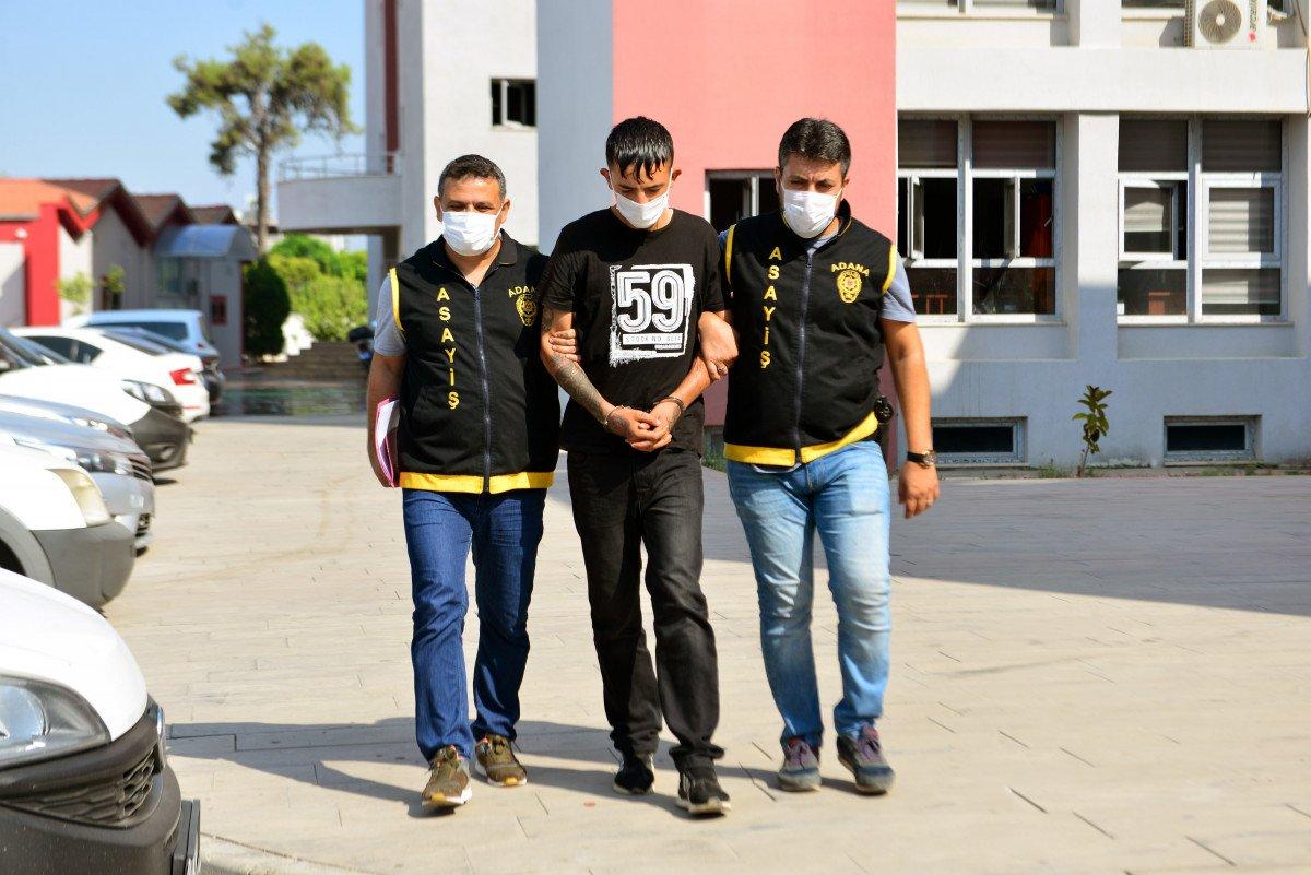 Adana da kapkaççıyı dövmeleri ele verdi #1