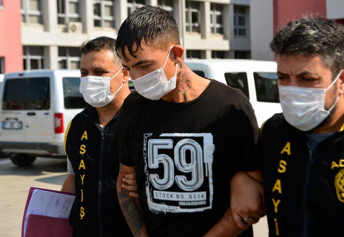 Adana da kapkaççıyı dövmeleri ele verdi #2