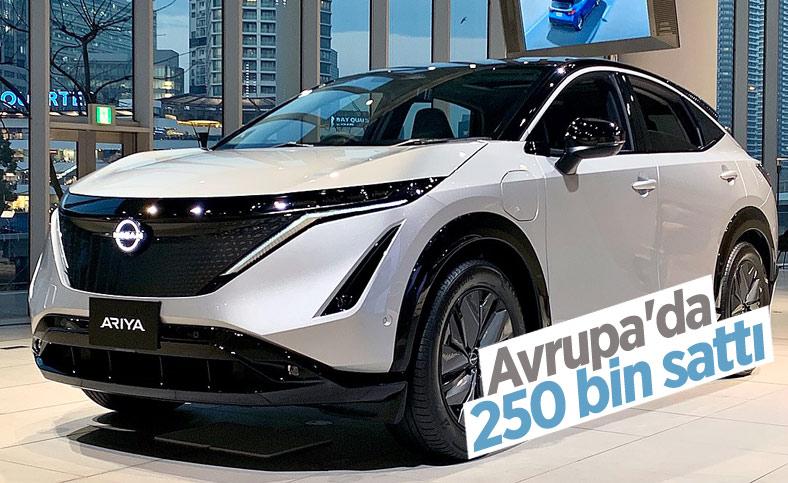 Nissan, Avrupa'da 250 bin elektrikli otomobil sattı